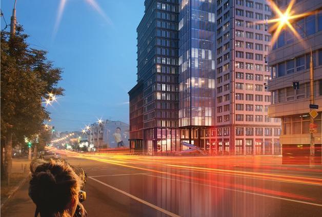CHICAGO Central House — жилой комплекс бизнес-класса в самом центре Киева